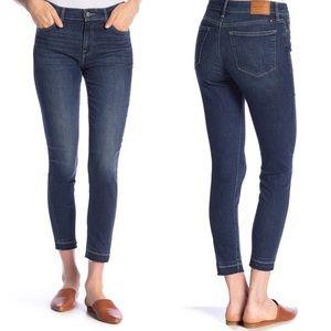 Lucky Brand Ava Skinny Released Hem Jeans 10/30